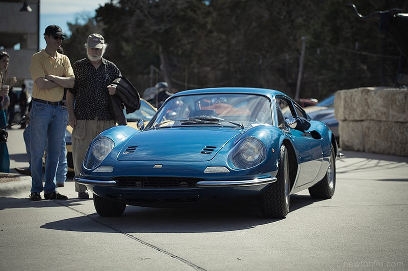 Dino 246GT: The lady dressed in sapphire