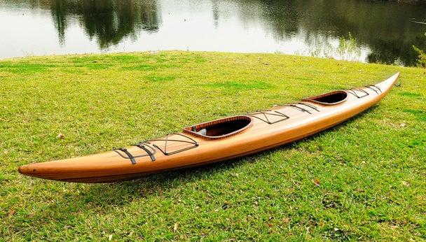 Navigate the Flood in a Beautiful Handmade Kayak