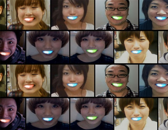 LED Fronts Give You A Really, Really Bright Smile