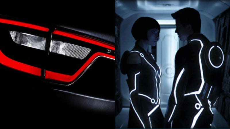 How Dodge Makes LED Taillights Glow Like TRON Suits
