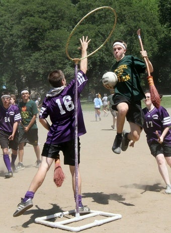 Quidditch Is Not a Sport