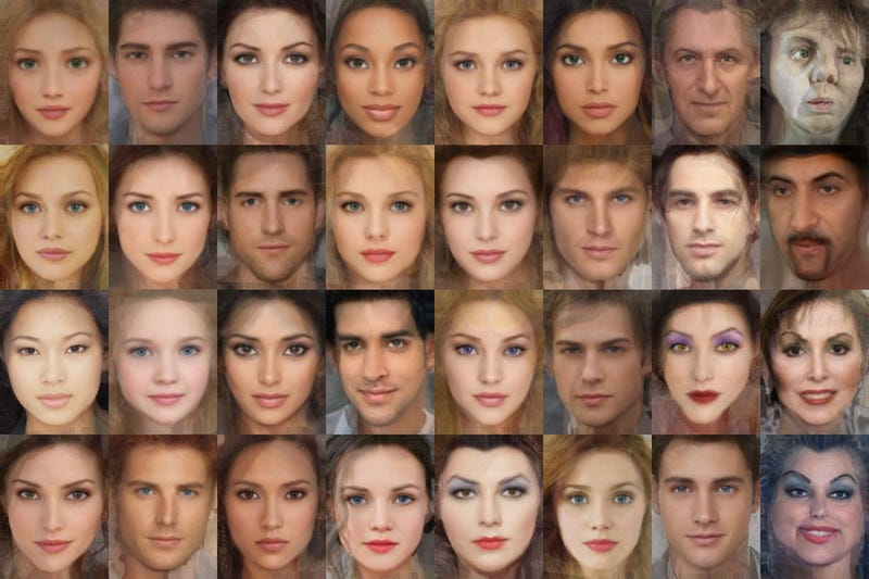 What would Disney's cartoon characters look like as real people?