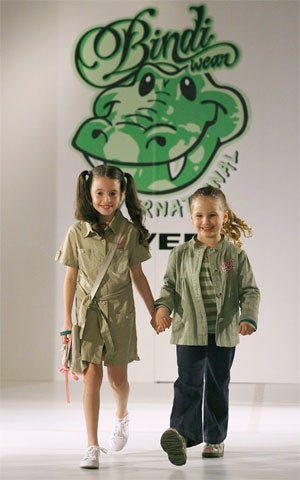 Bindi Irwin's Wild Designs Hit The Catwalk