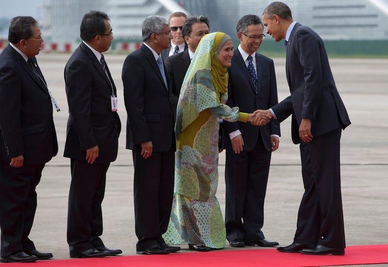 Obama Makes Landmark Trip to Malaysia