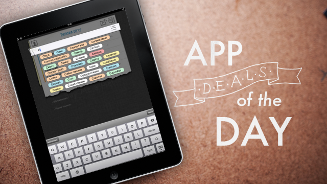 Daily App Deals: Get Buy Me a Pie! for iPad and iPhone for Free