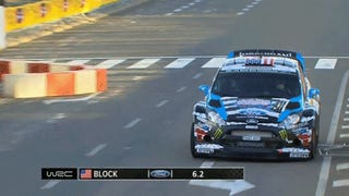 Watch Ken Block Smack The Wall In The First Turn Of Rally Spain