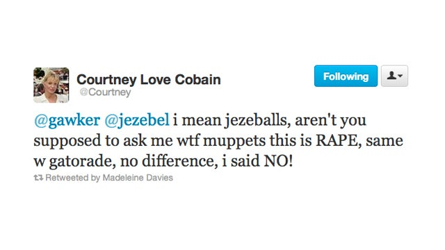 Courtney Love Drags Us Into Her Muppet Feud