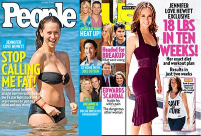 Jennifer Love Hewitt Wants You To Stop Talking About Her Body…Unless You're Calling Her Skinny!