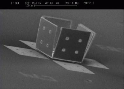 Scientists Do Micro-Origami, Make Tiny Drug-Delivery Package