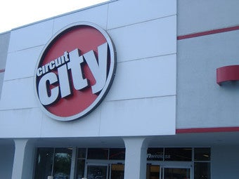 Circuit City Closes 155 Stores