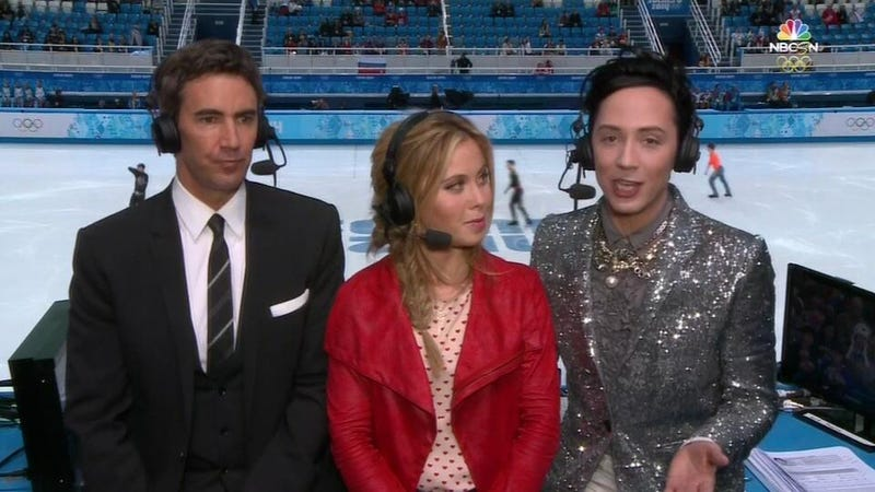 The Seven Gold-Medal Looks NBC's Johnny Weir Has Worn So Far in Sochi