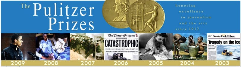 The Pulitzers: In With the Old