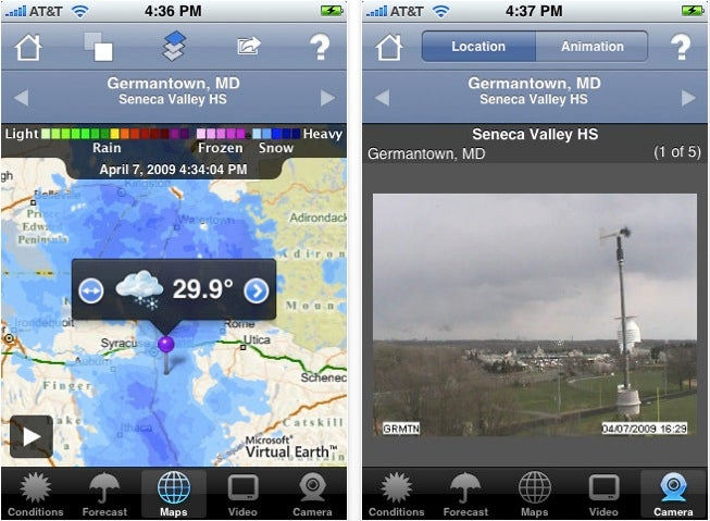 The Best Weather Apps