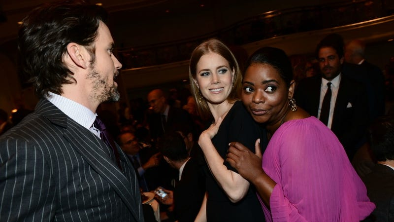 Octavia Spencer And Amy Adams Captivated By Something That's Not Matt Bomer