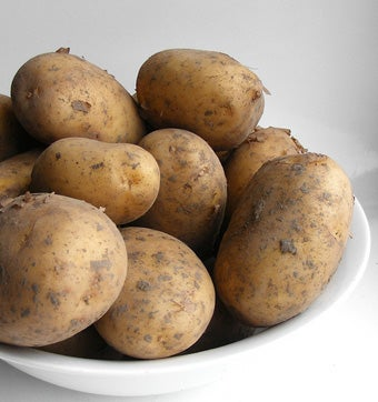 Use Your Dishwasher to Clean Potatoes for Holiday Meals