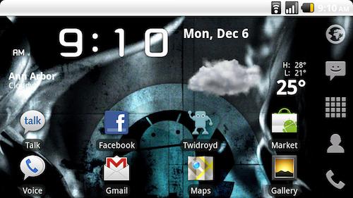 CyanogenMod 6.1 Drops with Camera Fixes, Notification Bar Widgets, and Lock Screen Gestures