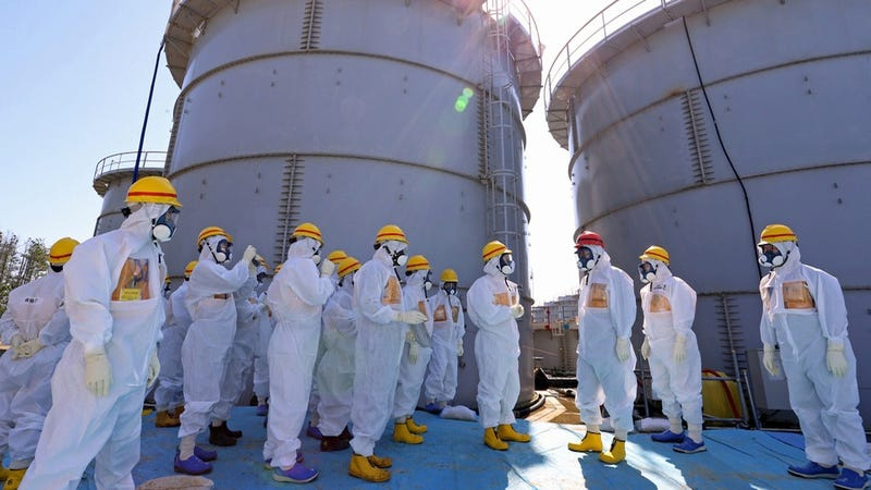 Six Fukushima Workers Accidentally Doused Themselves in Toxic Water