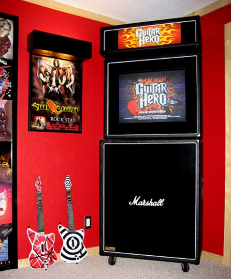 "Guitar Hero ""Arcade Syle"" Cabinet: Rock Out in Style"