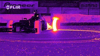 Awesome F1 Donut in FCIR