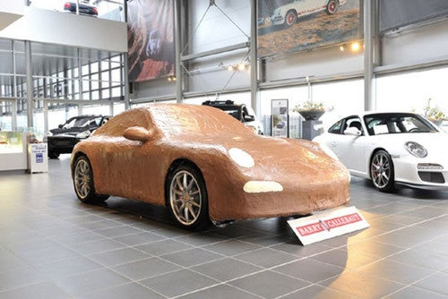 Chocolate Porsche: The Tastiest Sports Car Ever