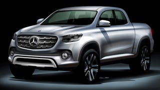 Mercedes to built Pickup - Not for US