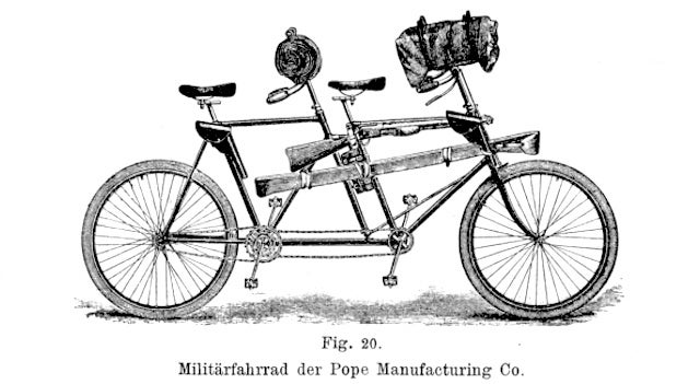 Great Moments In Bicycle-Powered Warfare