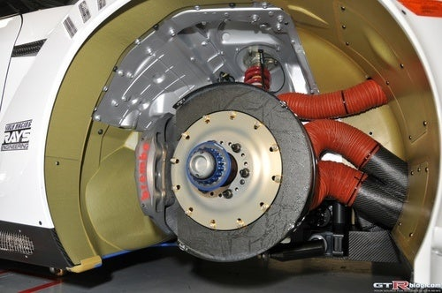 Now That's How You Cool Your Brakes