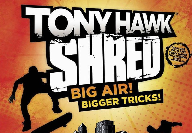 Tony Hawk: Shred Sells Like Rancid Hotcakes