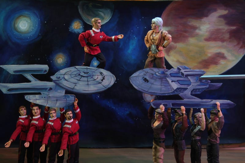 Robot Chicken will boldly go into doing more Star Trek sketches