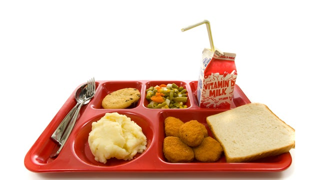 A Year Of Barely Edible School Lunches