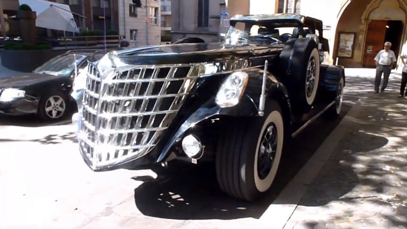 World's Ugliest Car 'Too Big To Tow'