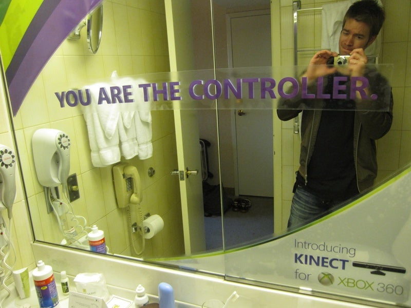 I Am The Controller? Of The Bathroom?