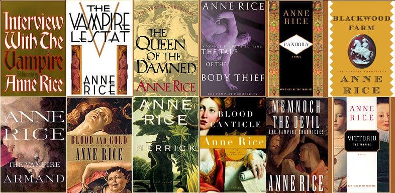 Seven Tips for Adapting Anne Rice's Vampire Novels for Film (Again)
