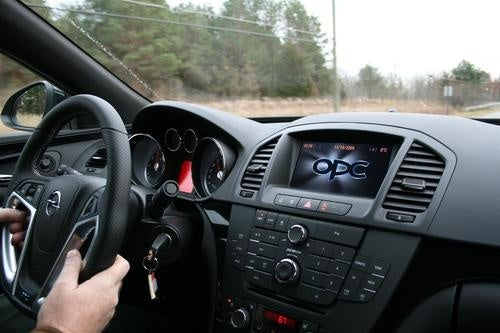 Opel Insignia OPC First Drive Gallery