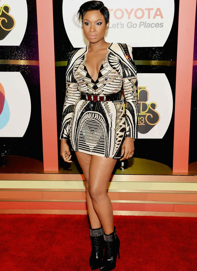 Jennifer Hudson Is Giving You Face, Body and A Whole Lotta Geometrics