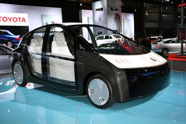 Toyota Planning to Build a Car out of Seaweed; Tofu Cushions Not Included