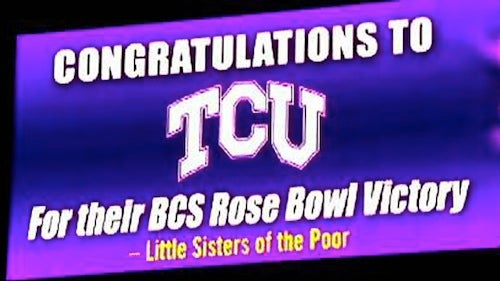 TCU Billboards Near Ohio State Are The Best Comeback