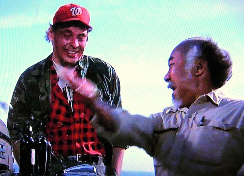 Why Is There A Nationals Cap In The Original Karate Kid?