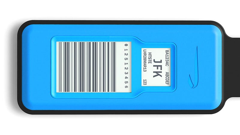 Reusable e-Ink Luggage Tags Improve the Chances Of Your Bag Arriving