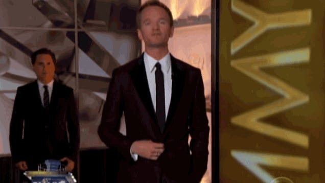 What Is This Guy Doing Behind Neil Patrick Harris?