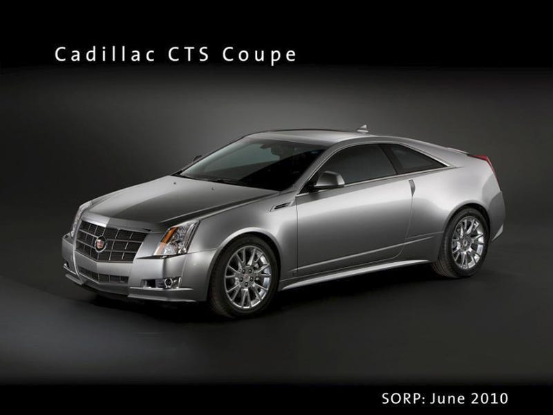 2010 Cadillac CTS Coupe Revealed By Crappy Economy