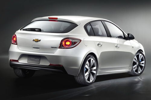 Chevy Cruze Hatchback: At Least It's Got A Pretty Ass