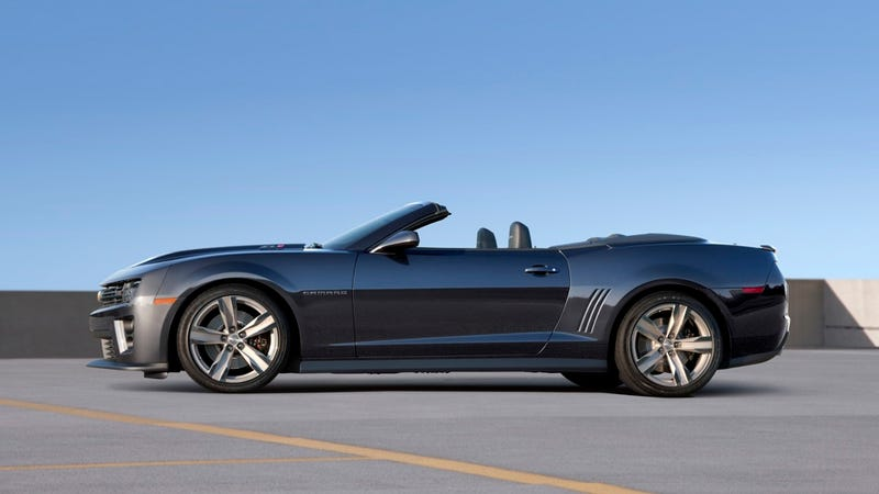 The Camaro ZL1 is now the most powerful Chevy convertible ever