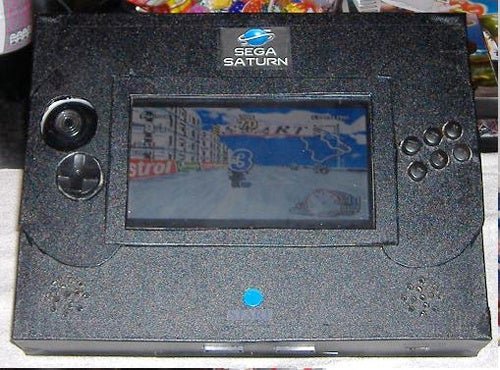 Portable Sega Saturn Console: Virtua Cop On The Go