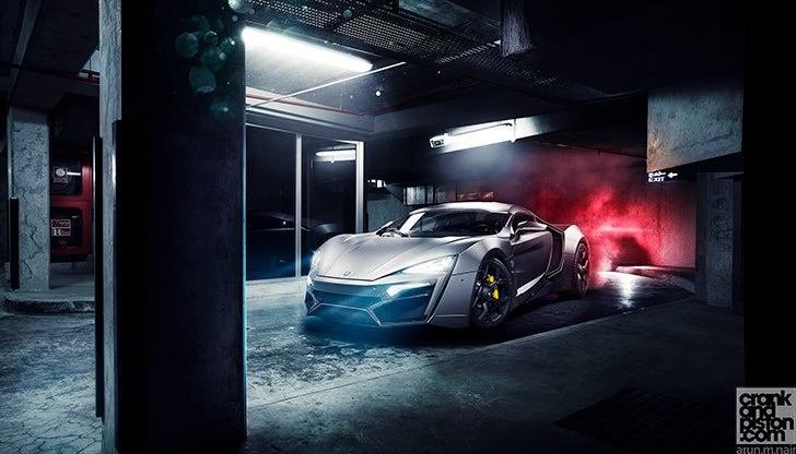 Born in the Middle East. W Motors Lykan Hypersport