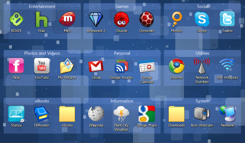The Friendly Netbook Desktop