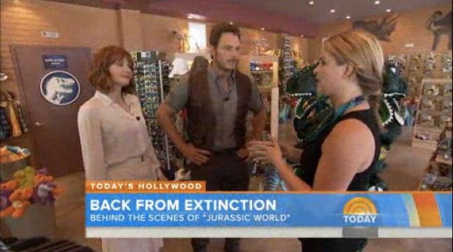 Jurassic World Set Visit Reveals The Jurassic Park Of The Future