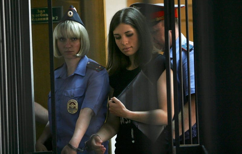 Family of Imprisoned Member of Pussy Riot Says She's Missing