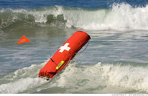 Watch Emily the Robotic Lifeguard in Action in Malibu