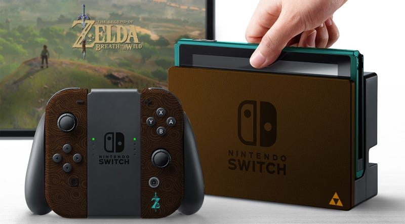 Imagining The Nintendo Switch In Different Colors [Update: And Themes]